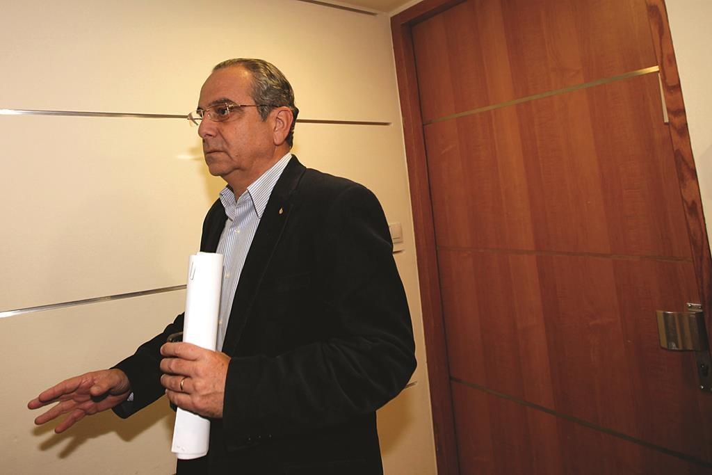 Israel Manufacturer's Union Chairman Shraga Brosh. Photo by Miriam Alster/FLASH90