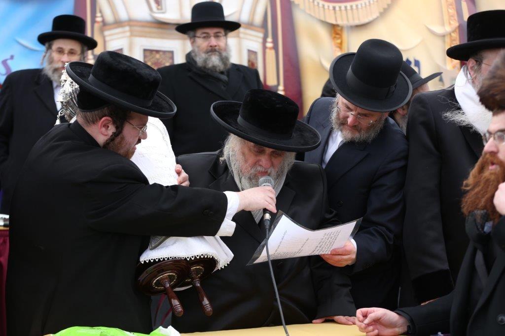 Harav Yecheskel Roth, Karlsburger Rav, shlita. (Yossi G oldberger/JDN)