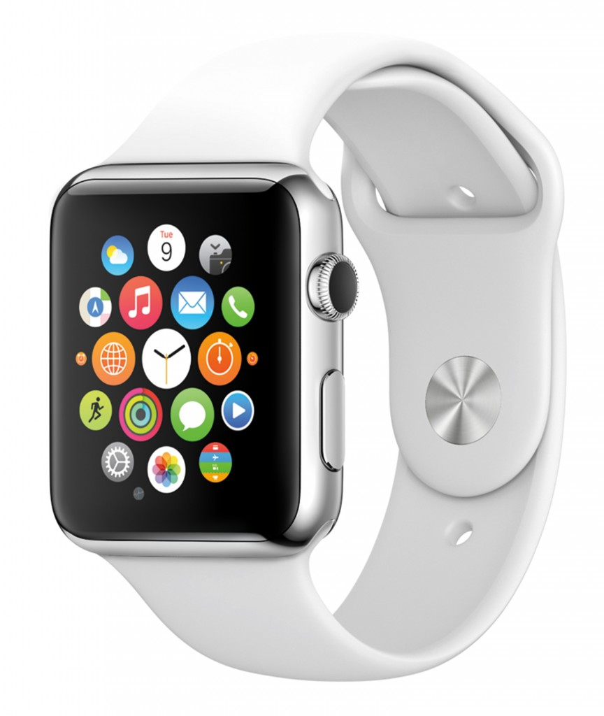 The Apple Watch is expected to be available in the U.S. in April. (Apple/TNS)