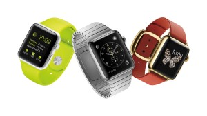 The Apple Watch comes in three distinctive styles: the Apple Watch, the Apple Watch Sport and the Apple Watch Edition. (Apple/TNS)