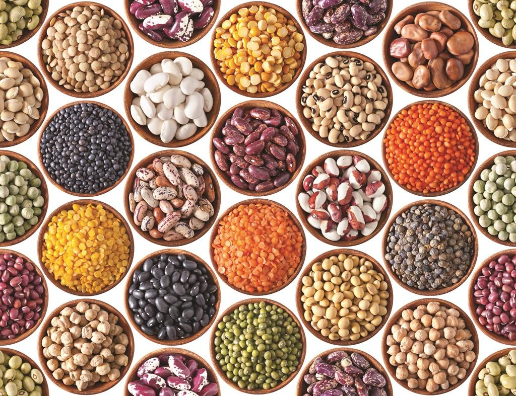 One-half cup of cooked beans contains as much protein as two ounces of meat, fish or poultry and essentially no fat.