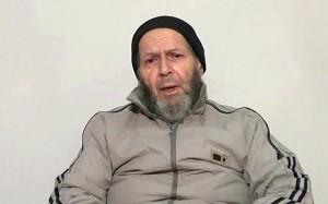 American hostage Warren Weinstein is shown in this image captured from an undated video
