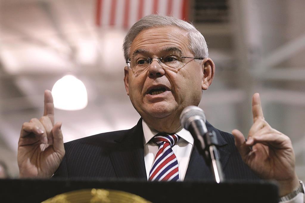 Senator Robert Menendez. (AP Photo/Mel Evans)