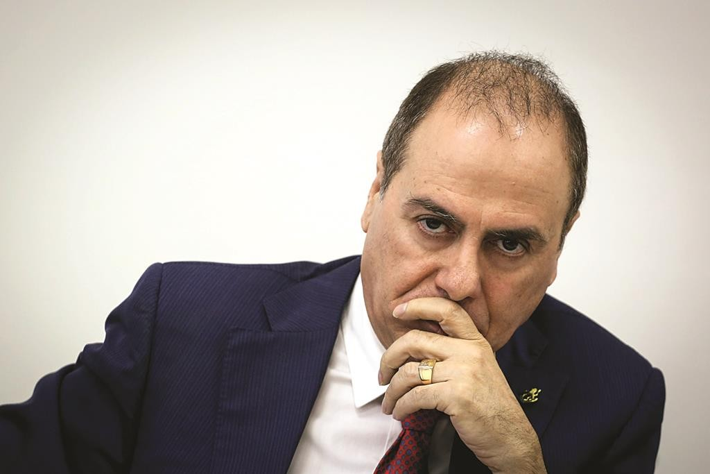 Silvan Shalom, Interior Minister and responsible for relations with the U.S. (Hadas Parush/Flash90)