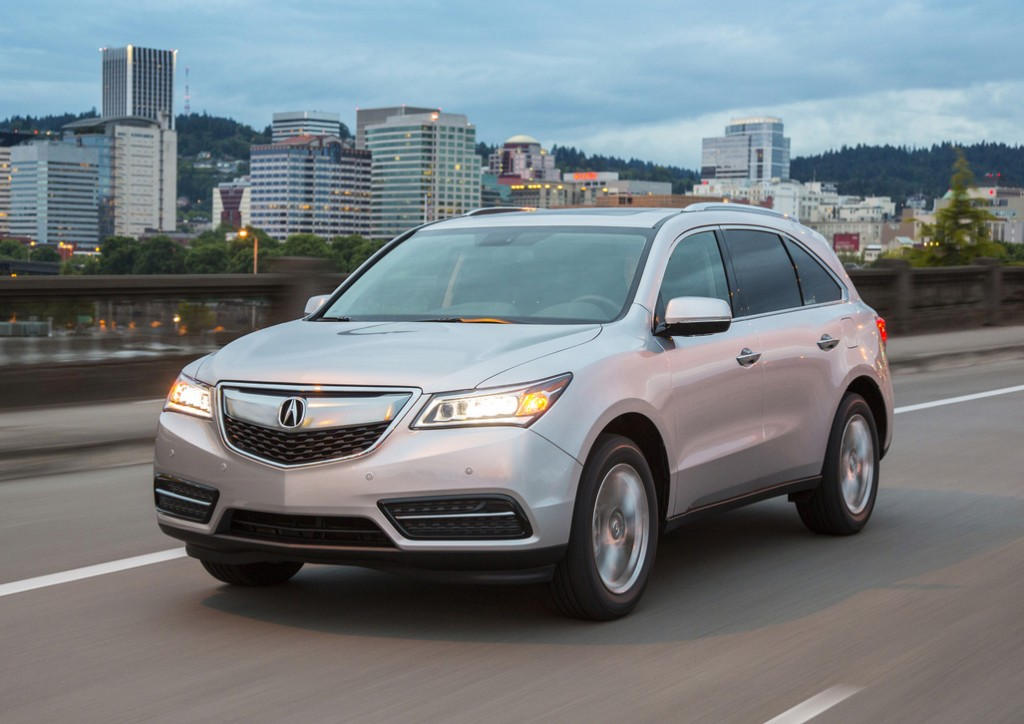 This image provided by Acura shows the 2016 Acura MDX. (AP Photo/Acura)