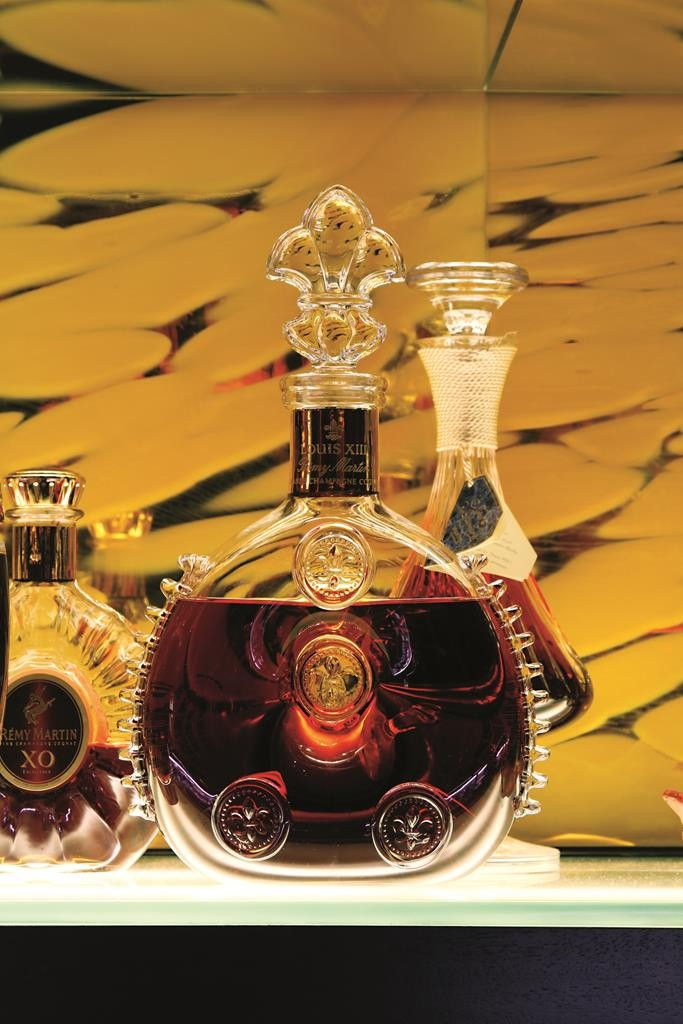 A bottle of Remy Martin Louis XIII cognac. (Flickr/Michael Margolis)