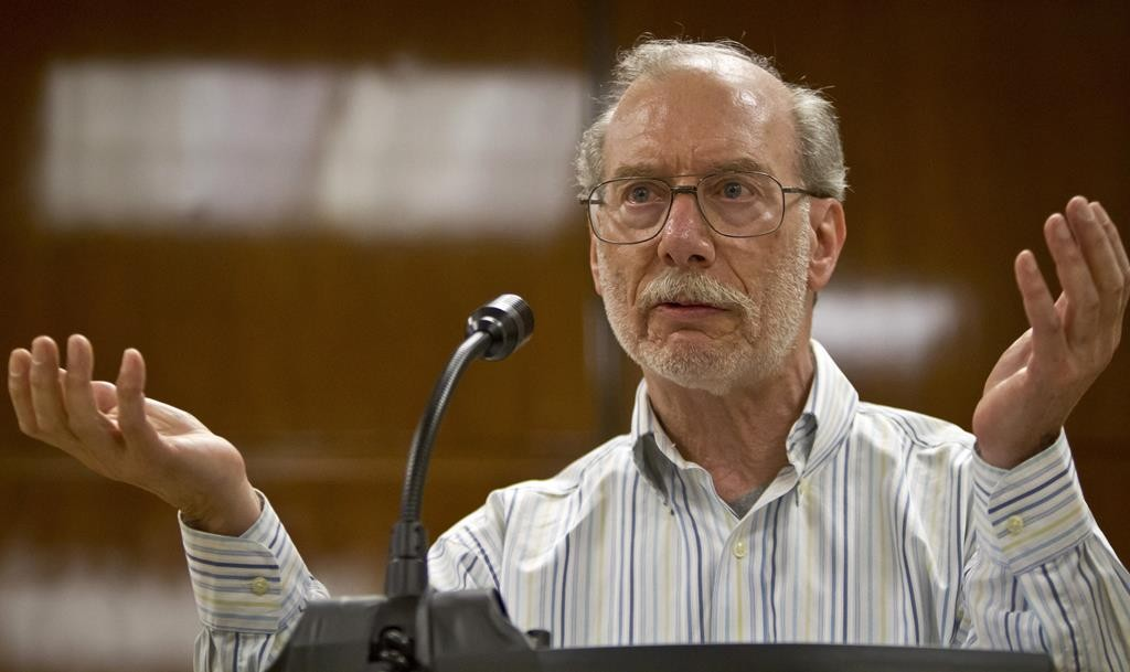Stan Patz, father of Etan, at a Friday press conference at Manhattan Supreme Court. (AP Photo/Bebeto Matthews)
