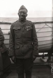 Sgt. William Shemin, during World War I. (Private Needham Roberts)