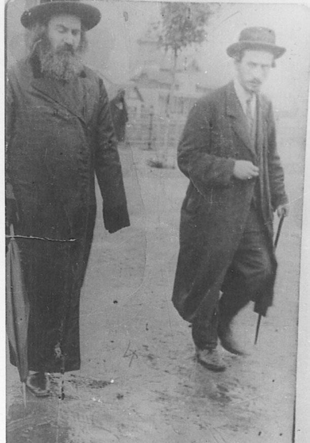 "Harav Yisrael Chaim Menashe of Rakov, the Likutei Maharich, zt""l."