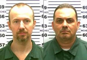 Richard Matt (L) and David Sweat. (New York State Police)