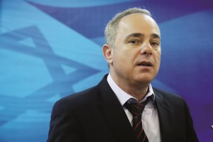 Israeli Minister of Infrastructute and Energy Yuval Steinitz. (Marc Israel Sellem/POOL/FLASH90)