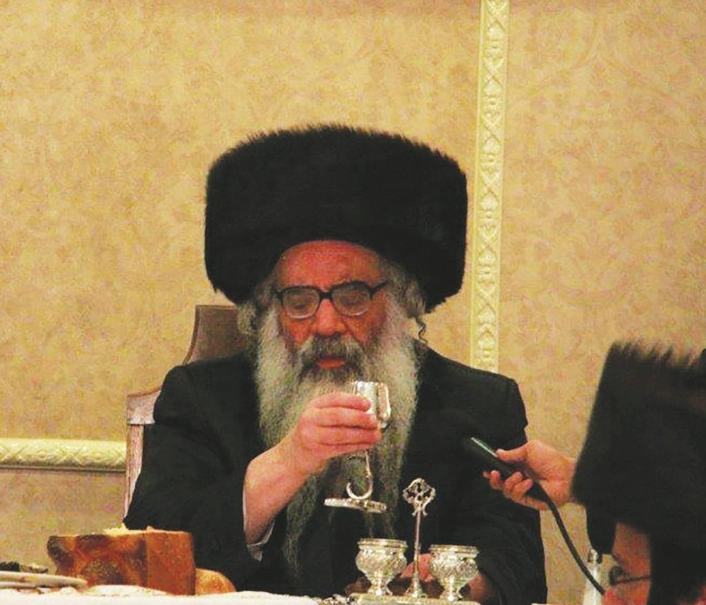 """Harav Pinchos Shalom Hager, zt""""l, eldest son of, ybl""""c, the Vizhnitzer Rebbe, shlita. (JDN)"""