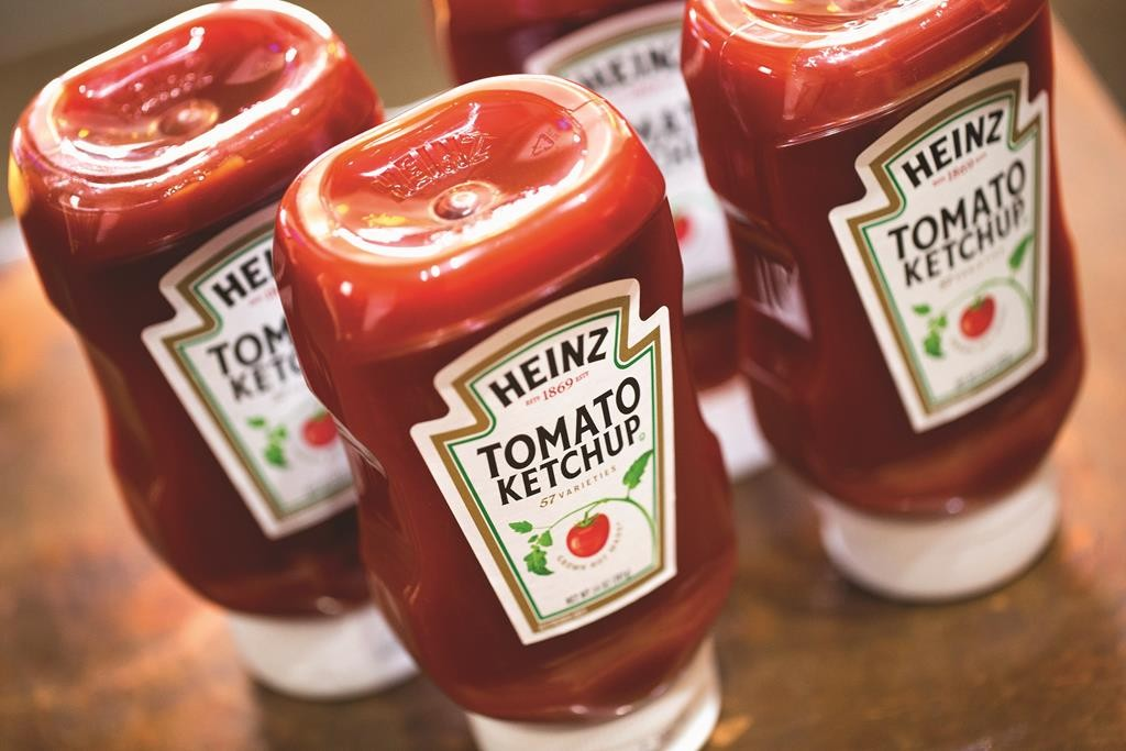 A tablespoon-size serving of ketchup has four grams of sugar, which is more sugar than a typical chocolate chip cookie. (Scott Olson/Getty Images)