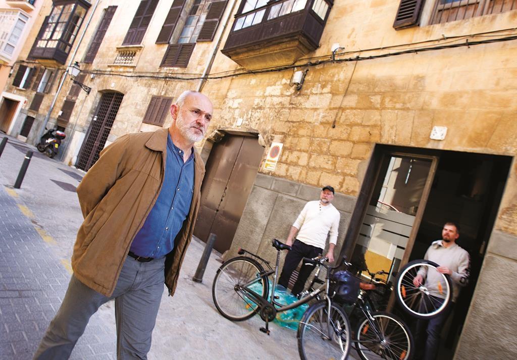 The Jewish quarter of Palma de Mallorca, Spain.  (JAIME REINA/AFP/Getty Images)