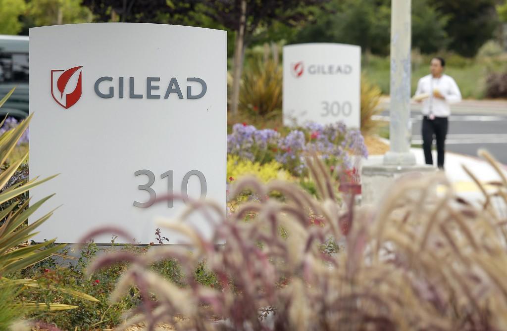 The headquarters of Gilead Sciences in Foster City, California. (AP Photo/Eric Risberg, File)