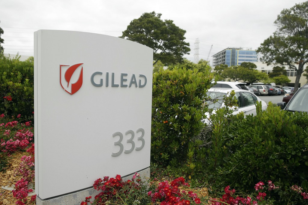 The headquarters of Gilead Sciences in Foster City, Calif. (AP Photo/Eric Risberg))
