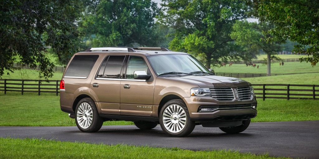 The 2015 Lincoln Navigator has been updated for 2015, and continues to be the ultimate luxurious SUV. (Lincoln)