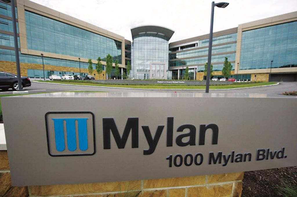 Mylan headquarters in Canonsburg, Pennsylvania. (Jeff Swensen/Getty Images)