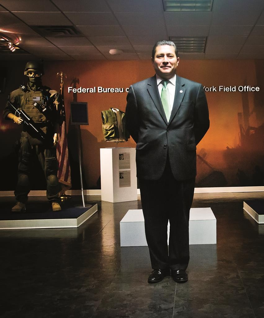 Diego Rodriguez, assistant FBI director in charge the New York field office. (AP Photo/Bebeto Matthews)