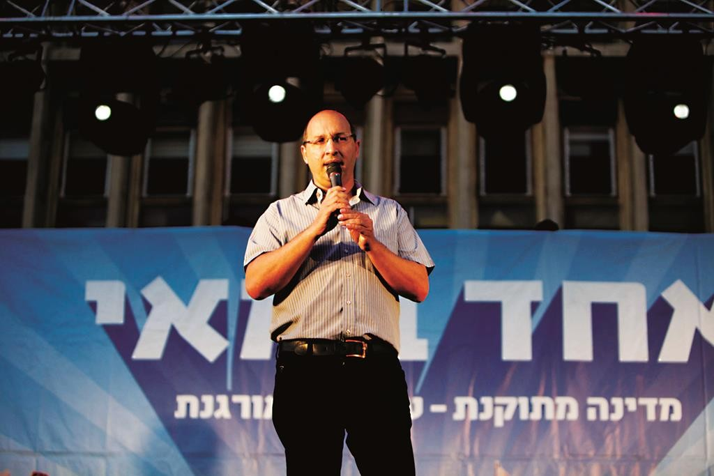 Chairman of the Histadrut labor federation Avi Nissenkorn. (FLASH90)