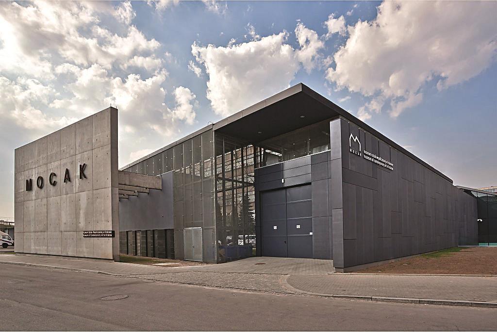 The Museum of Contemporary Art in Krakow. (Mocak)