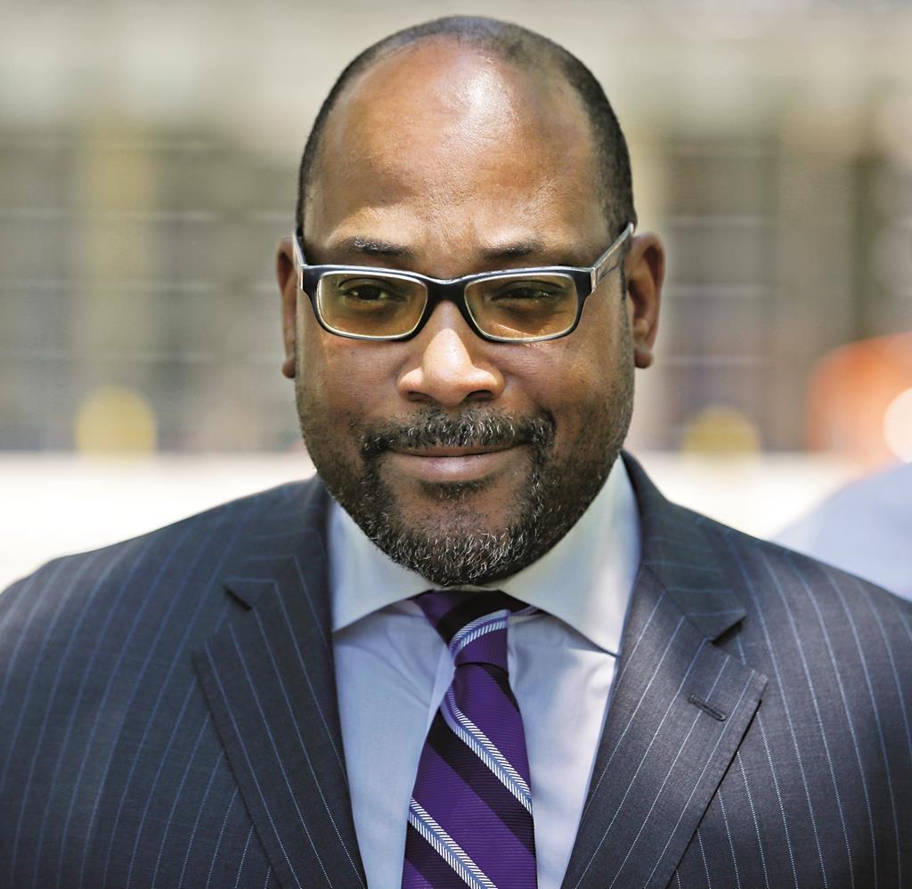 State Sen. John Sampson. (AP Photo/Seth Wenig)