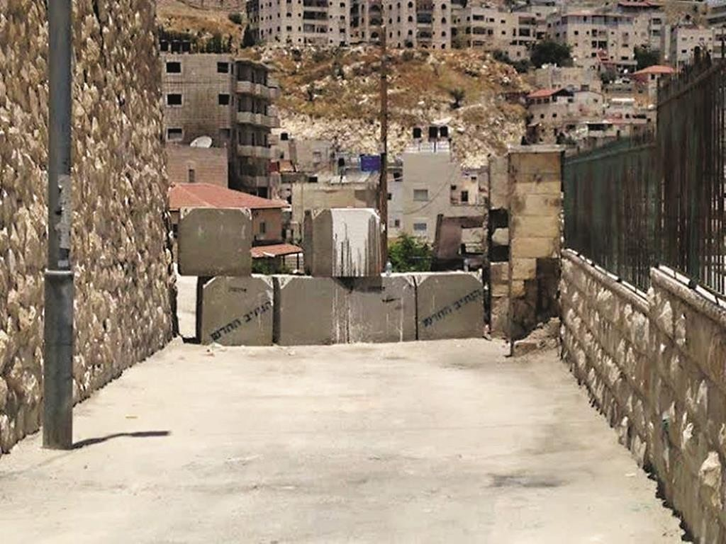 The road closing at Har Hazeisim has contributed significantly to a month of quiet.