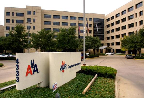 American Airlines corporate headquarters in Fort Worth, Texas. (Tom Fox/Getty Images)