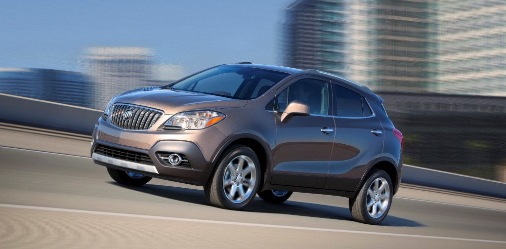 The 2015 Buick Encore in Cocoa Silver. (Buick/TNS)