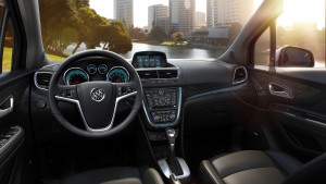 The 2015 Buick Encore with Ebony interior. (Buick/TNS)