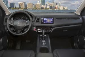 The spacious interior of the 2016 Honda HR-V. (Honda)