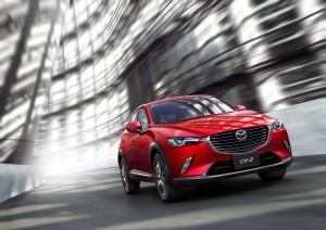 The 2016 Mazda CX-3. (Mazda)