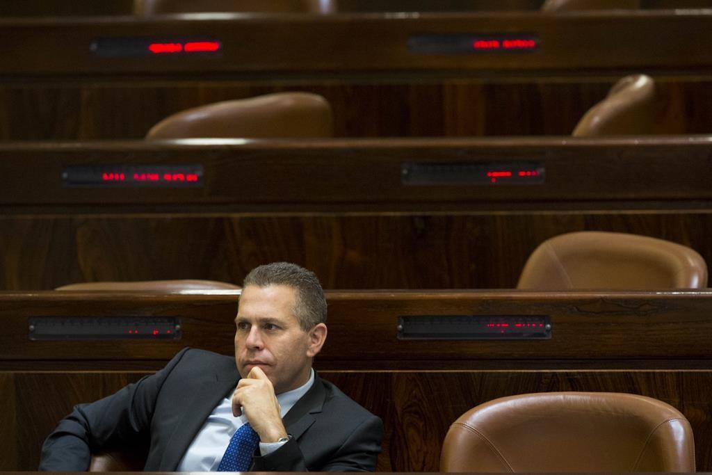 Public Security Minister Gilad Erdan. (Yonatan Sindel/Flash90)