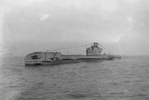 The Dakar in 1944 as the Royal Navy's HMSTotem, before it was purchased by Israel.