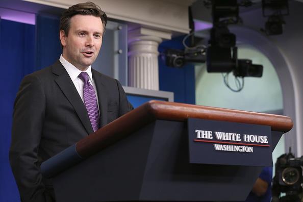 White House Press Secretary Josh Earnest. (Chip Somodevilla/Getty Images)