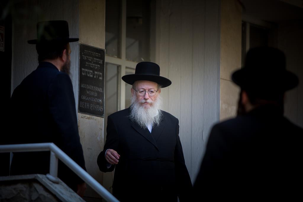 Rabbi Litzman (Flash90)