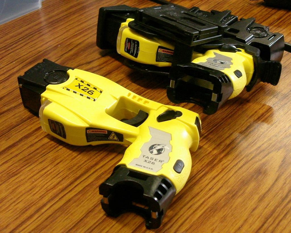 The NYPD ccurrently has 700 tasers, such as these. (Flickr/Paul Hunter)