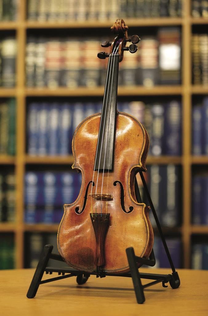 The Ames Stradivarius which was recovered by the FBI in June. (FBI New York)