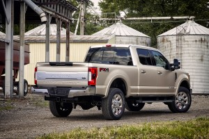 The 2017 Ford F-350 Super Duty King Ranch Crew Cab. (Ford)
