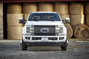 The 2017 Ford F-450 Super Duty Platinum Crew Cab. (Ford)