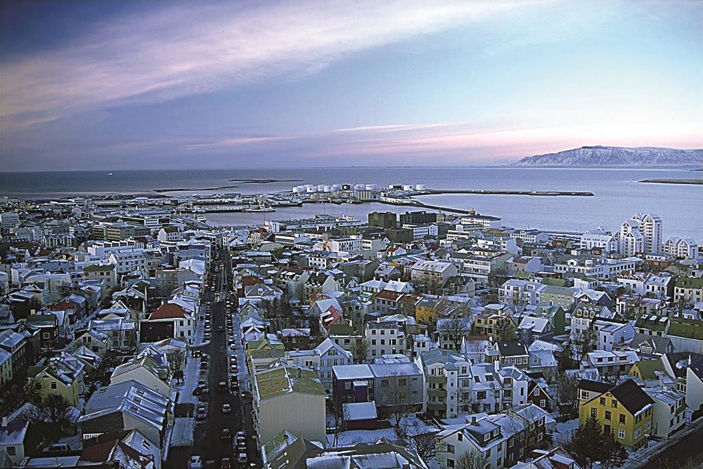 A view of Reykjavik, Iceland, the latest to join the boycott of Israel. (Andreas Tille)