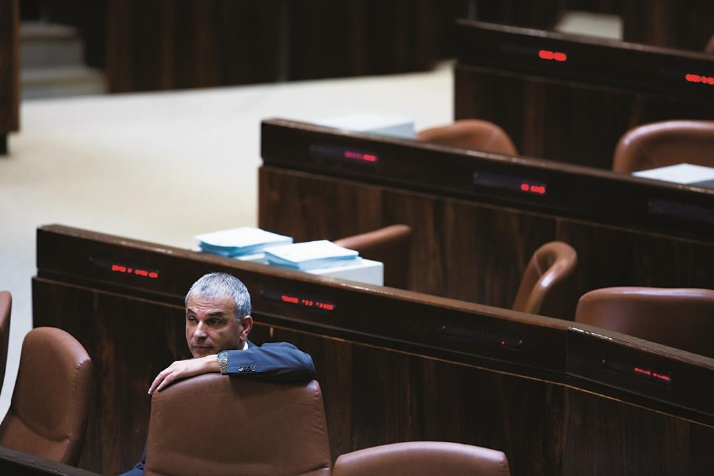Israeli Finance Minister Moshe Kahlon. (Yonatan Sindel/Flash90)
