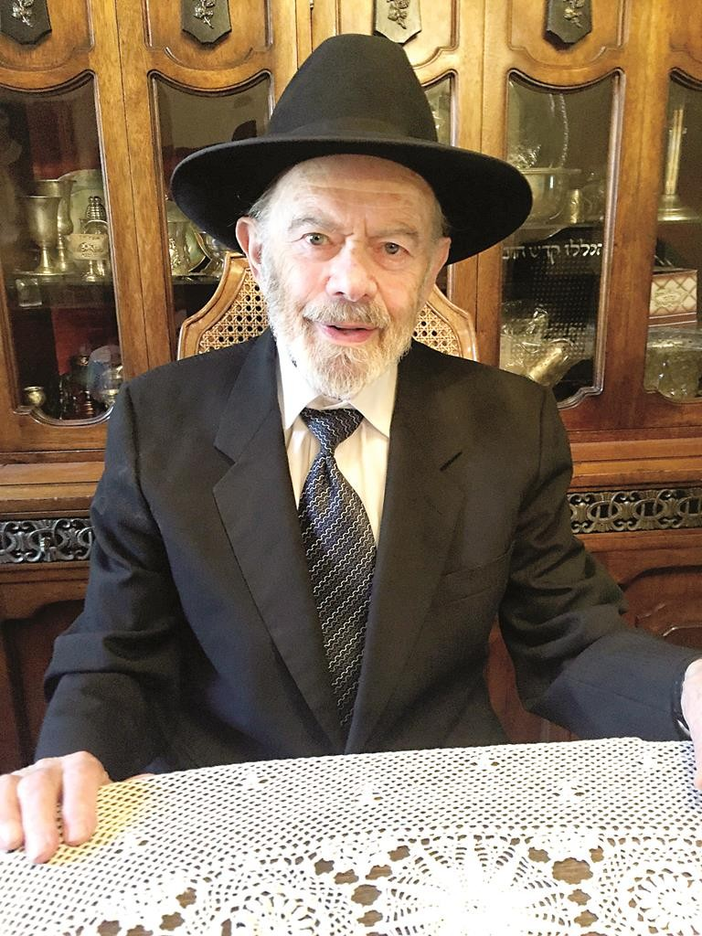 Reb Shloime Miller who has witnessed 55 years of growth in Boro Park.