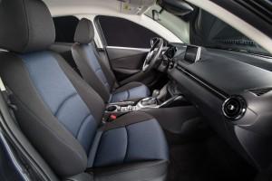 The interior of the 2016 Scion iA, Scion's entry-level four-door sedan. (David Dewhurst Photography/Scion)