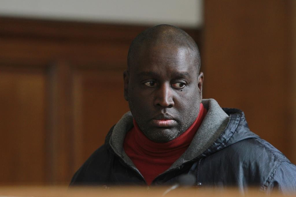 Darius McCollum is arraigned Friday in Brooklyn criminal court. (Jesse Ward/The Daily News via AP)