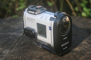 The Sony X1000V 4K action camera. (AP Photo/ Ron Harris)