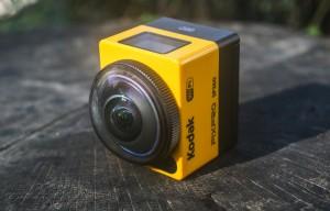 The Kodak PIXPRO SP360 action camera. (AP Photo/ Ron Harris)