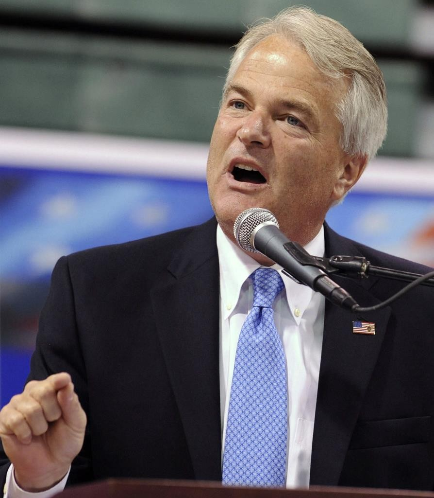 Staten Island DA-elect Michael McMahon. (AP Photo/Diane Bondareff)