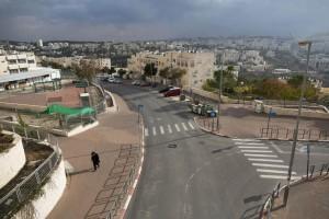 A recent view of Ramat Shlomo, Yerushalayim. (Yonatan Sindel/Flash90)