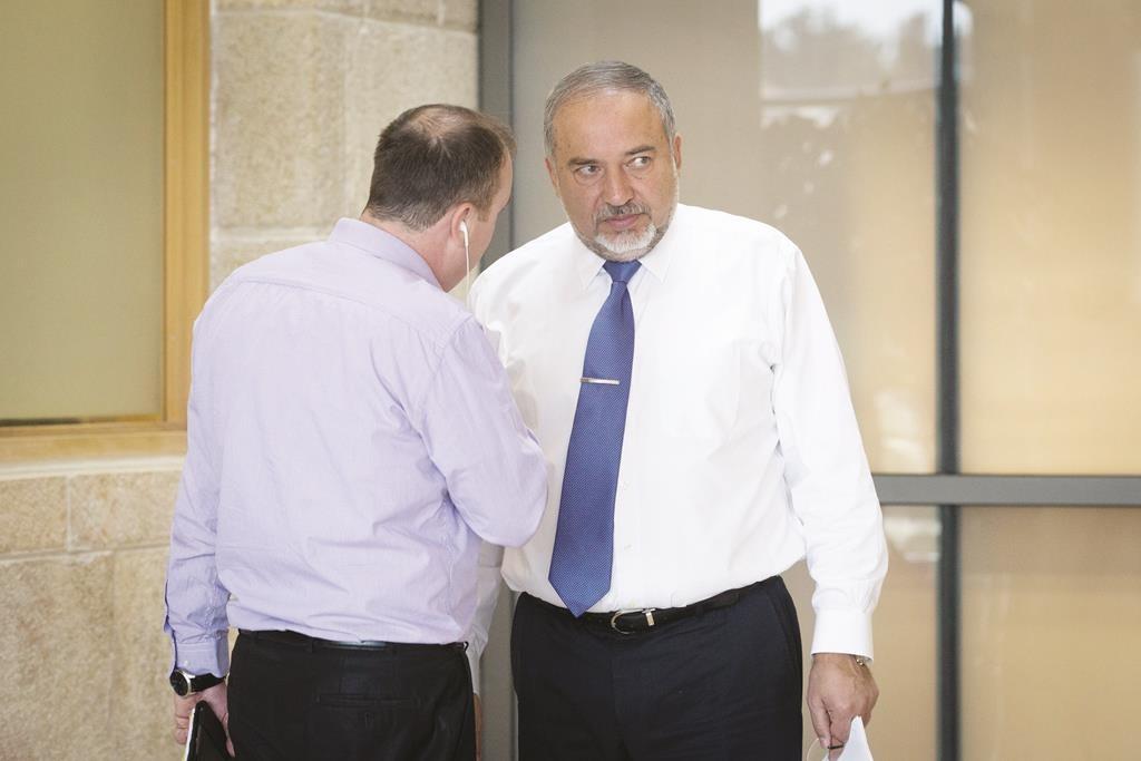 Leader of the Yisrael Beiteinu party Avigdor Lieberman. (Miriam Alster/FLASH90)
